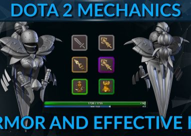Dota 2 in-depth mechanics | How Armor works?