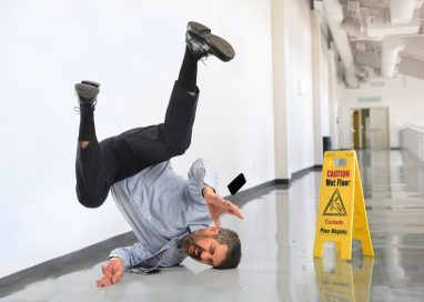 Dealing with a Slip-and-Fall Accident