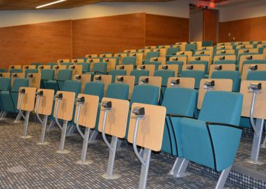 Make your guests comfortable in the lecture theatres