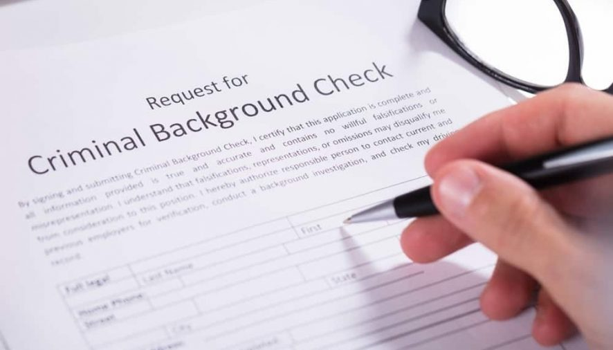 How can I perform a criminal background check on someone?